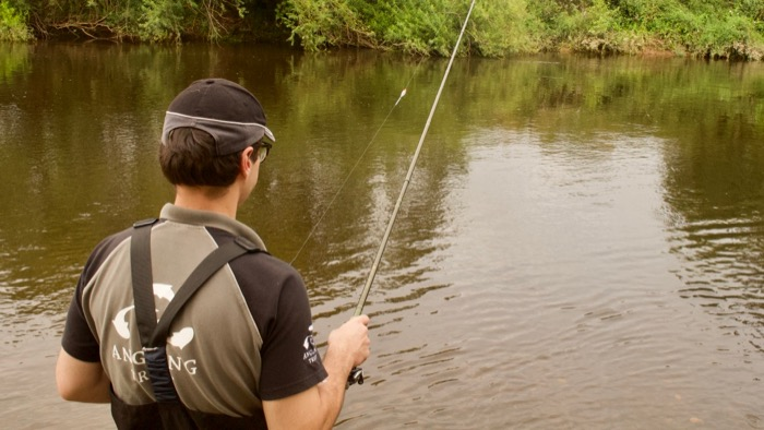 River fishing for beginners
