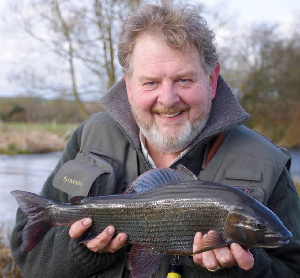 British Record Grayling River Frome Fly Fishing