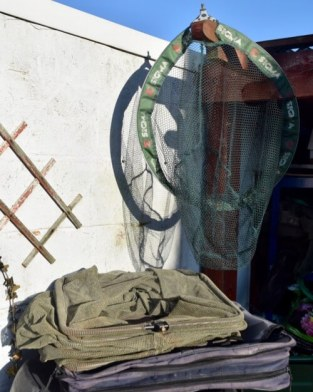 How to store fishing nets bags and waders