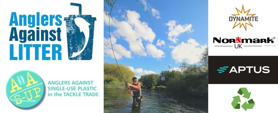 Anglers Against Litter eco friendly fishing tackle