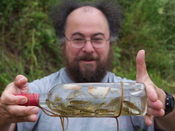 Dr Mark Everard Fishing