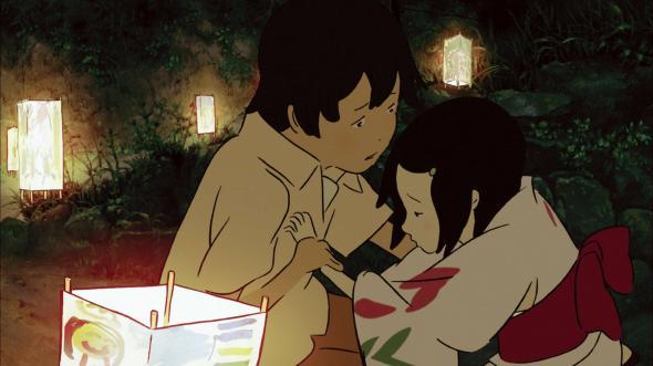 Image result for anime Rainbow Fireflies