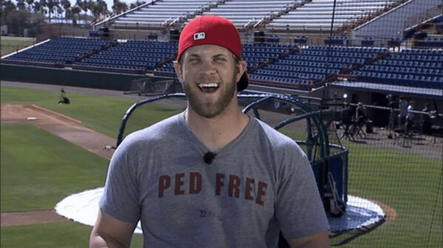 Bryce Harper Is Looking Pretty Jacked
