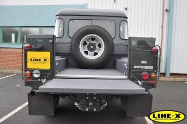 LINE-X Land Rover defender