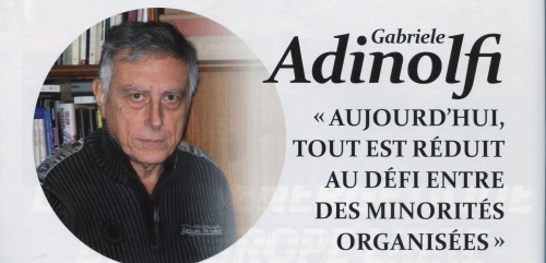 Gabriele Adinolfi Aujourd'hui tout est réduit au défi entre des minorités organisées.jpeg