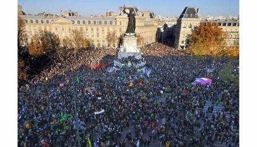 抗議整體安全法的示威人潮