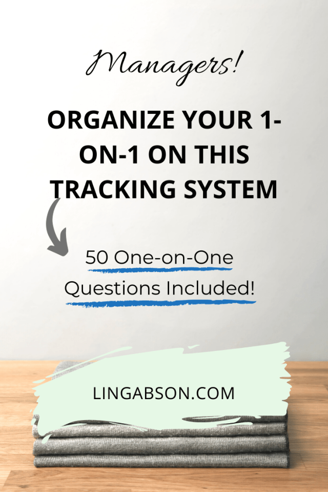 Team tracking system and 50 one-on-one questions