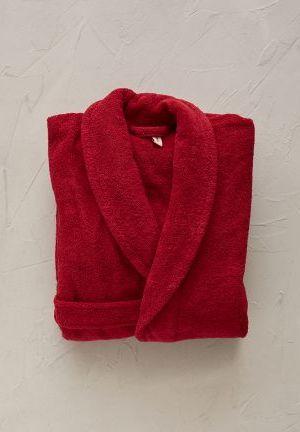 peignoir rouge Castille