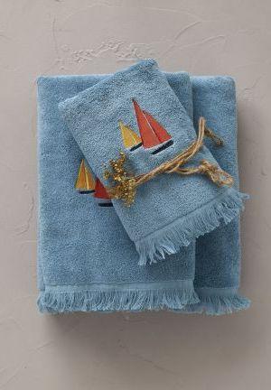 bain porto pino bleu