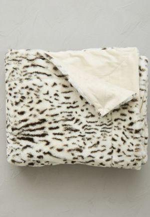 plaid fourrure lynx