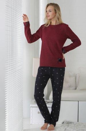 pyjama rouge et noir