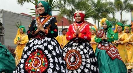 18 Ribu Pelajar Meriahkan Karnaval Budaya HUT ke 440 Kota Takengon