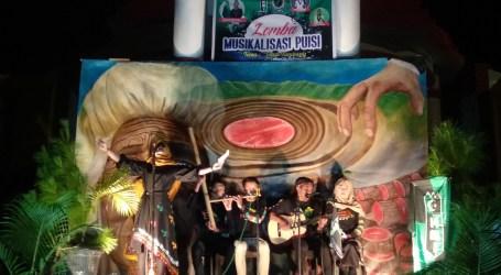 HMI Takengon gelar Lomba Musikalisasi Puisi Tolak Tambang di Tugu Aman Dimot