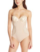 Women's Molded Cup Lace Bodysuit. Does not offer as much support as I would like but the shape is very feminin e and practical. The straps are removable and it has an opening on the bottom part which is a must when you need to use  the toilet. The fabric at the upper section is lace and delicate. I would recommend hand wash and cold air dry. Sun, 19  Sep 2021 18:01:40 +0400