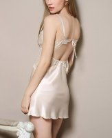 Women's Nightshirts Sexy Lingerie Lace Silk Strap Nightgowns. Fri, 15 Oct 2021 18:01:46 +0400