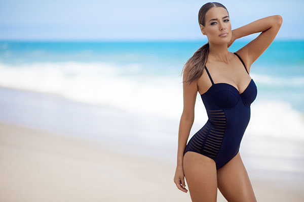 Amoressa back on track one piece swimsuit on Lingerie Briefs
