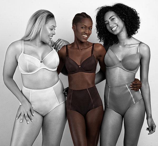 beingU lingerie for women of color on Lingerie Briefs