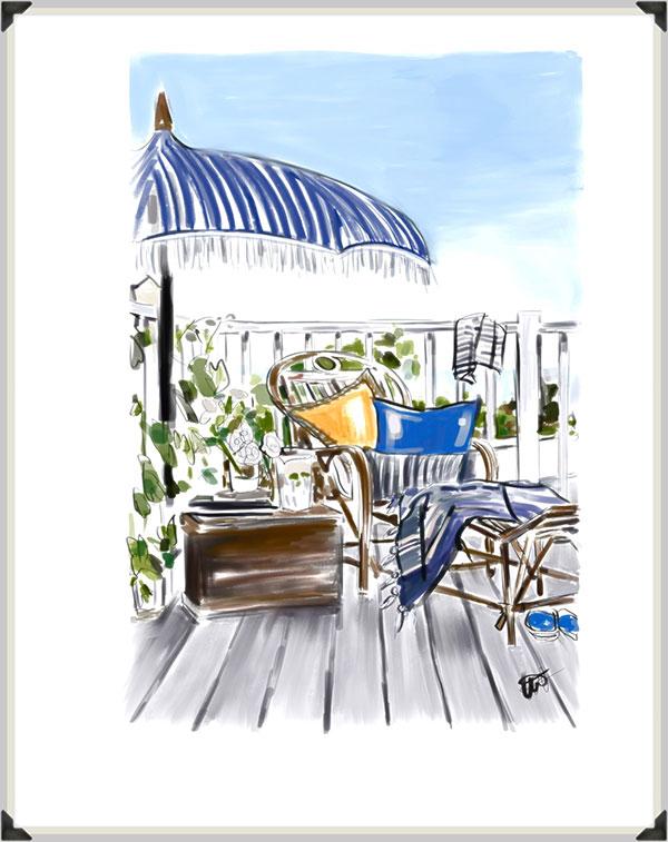 Tina Wilson Fashion Illustrations on Lingerie Briefs