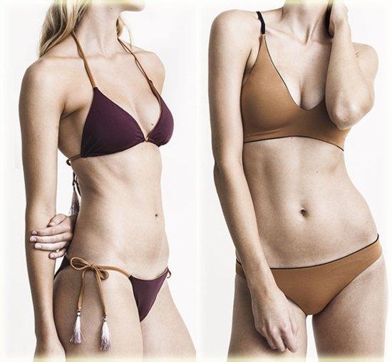 Skin swimwear on Lingerie Briefs