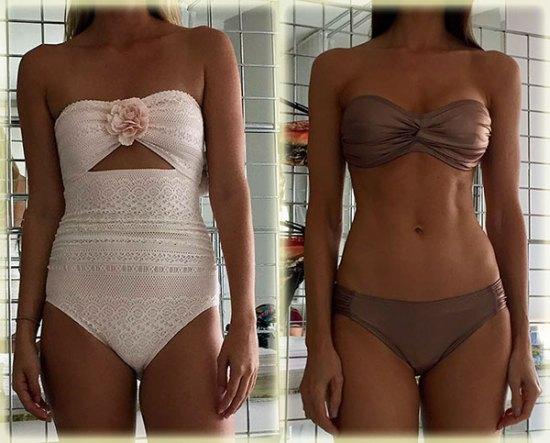 Kate Spade Swimwear on Lingerie Briefs