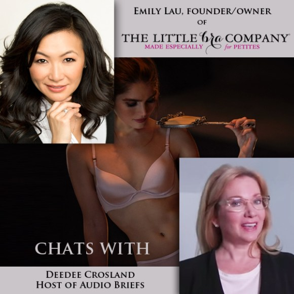 Emily Lau - owner of The Little Bra Company interview with Deedee Crosland - Lingerie Briefs