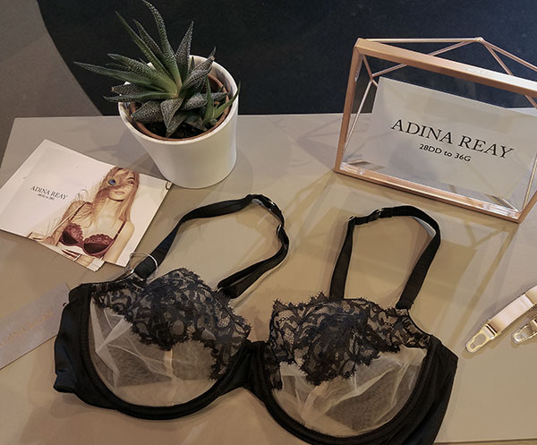 Adina Reay for 28-36, DD-G cups on Lingerie Briefs