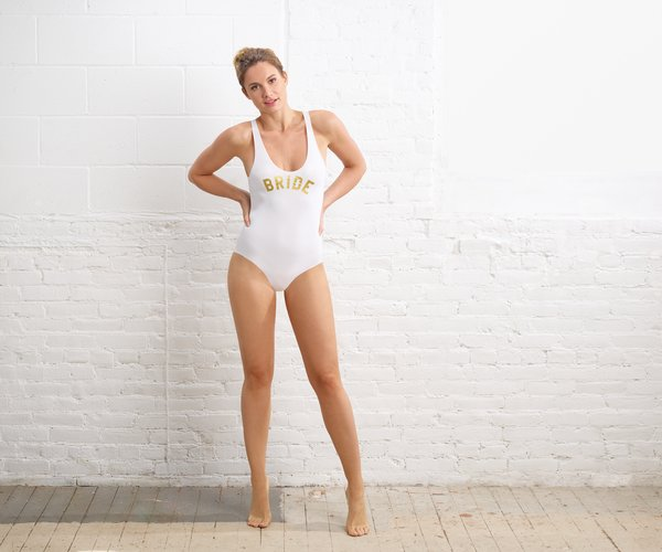 The Commando Bride™ bride on Lingerie Briefs