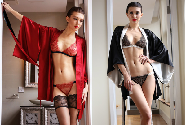 Kimonos by Helen Sánchez - seen on Lingerie Briefs