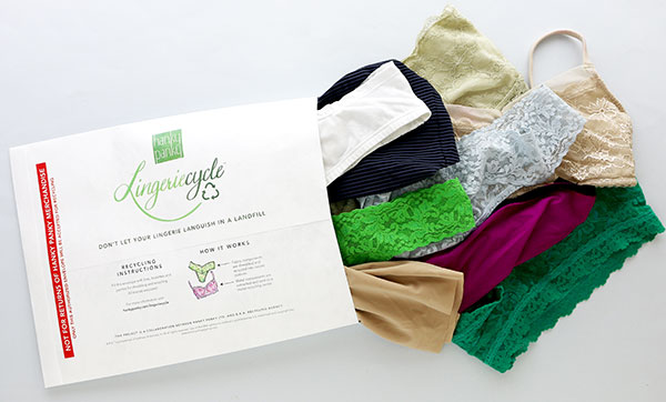 Hanky Panky & B.R.A. Recycle Agency launch Lingeriecycle™ on Lingerie Briefs