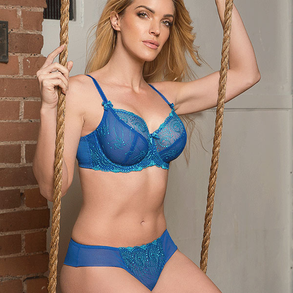 fit Fully Yours Nicole Bra and panty on Lingerie Briefs