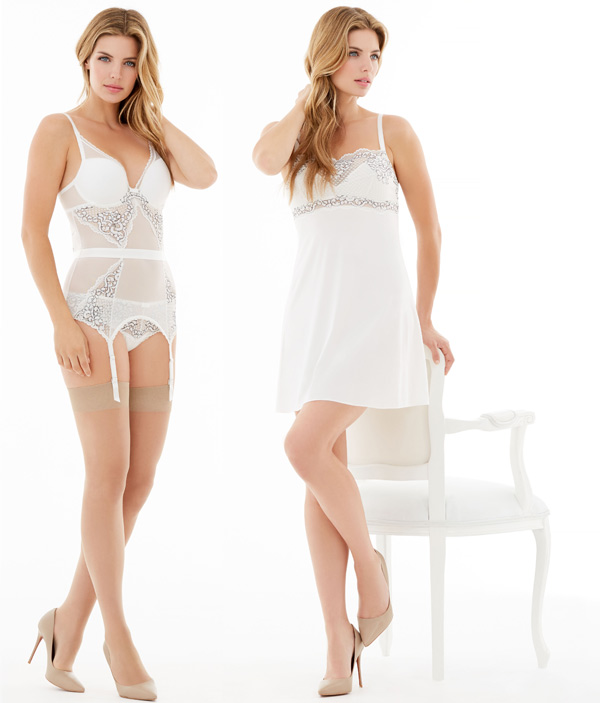 My One and OnlyMerry Widow & Chemise by Montelle - seen on Lingerie Briefs