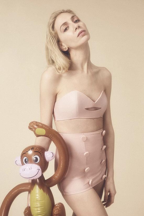 Charlotte Olympia x Adriana Degreas Swimwear s seen on Lingerie Briefs