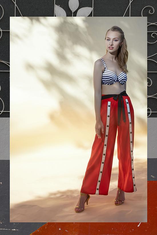 Anita bikini top, Ontwelfth Pants, Vince Camuto shoes on Lingerie Briefs