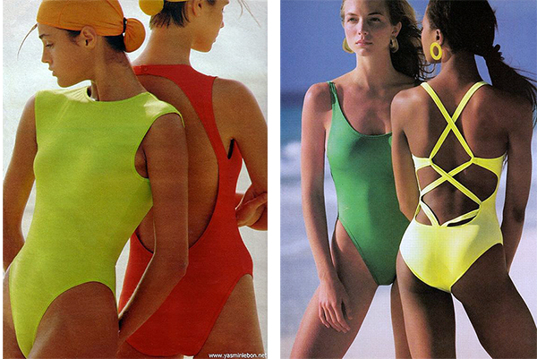 1985 French Elle and the 1988 Vogue USA magazines