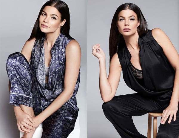 Katherine Hamilton's loungewear collection AW19 - featured on Lingerie Briefs