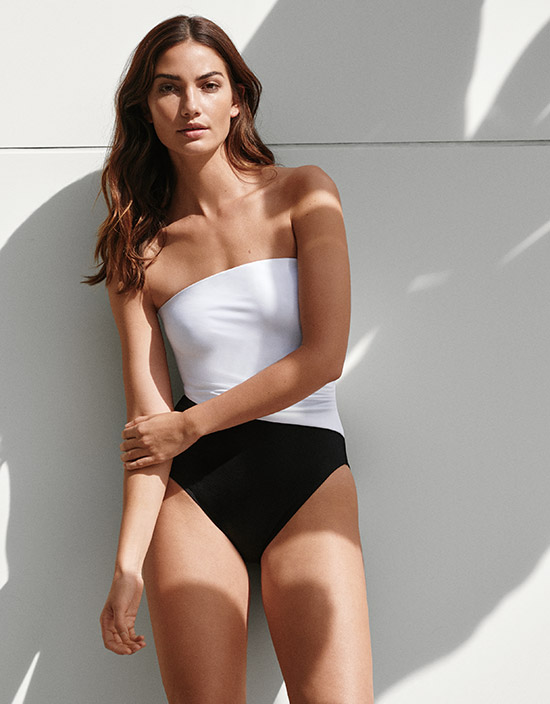 Ralph Lauren Swimwear on Lingerie Briefs