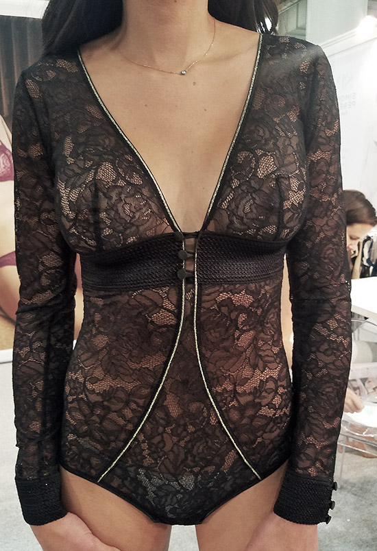 Simone Perele bodysuit spring 19 at Curve NY on Lingerie Briefs