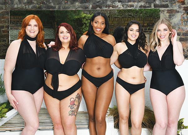 Curvy Kate 2019 Swimwear on Lingerie Briefs