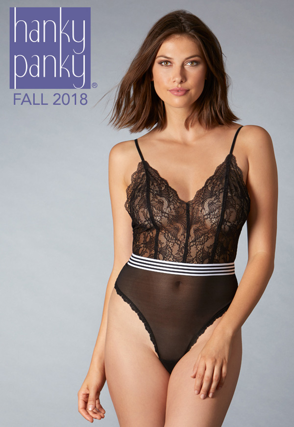 Hanky Panky's new Linette Collection featured on Lingerie Briefs