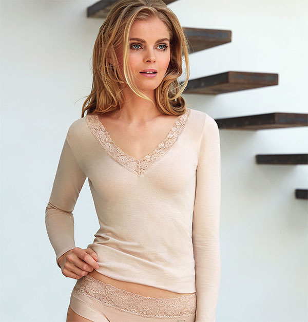 """Janira Dolci Cotton Collection with """"Silk Touch"""" Cotton Featured on Lingerie Briefs"""