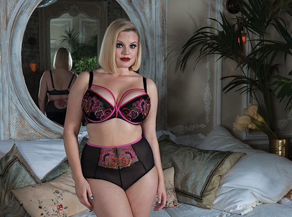 Scantilly encounter bra and panty on L ingerie Briefs