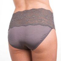 These high-waisted briefs have a cute lace accent around the thighs and are suitable for slight... , Mon, 30 Mar 2020 19:12:10 +0200