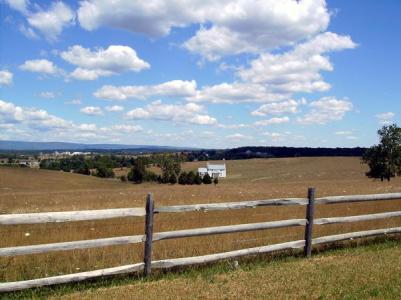 Cedar Creek Battlefield in Middletown Virginia