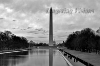 Washington Monument as seen from the Lincoln Memorial