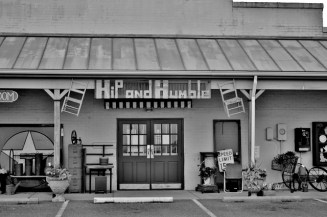 Shenandoah County Store Front Signs in Black and White # (8)