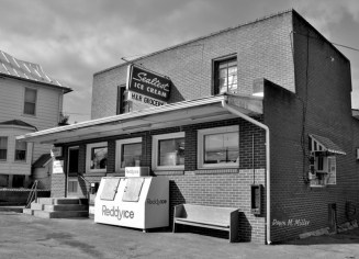Shenandoah County Store Front Signs in Black and White # (9)