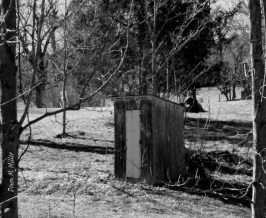 Local Outhouses in Black and White# (3)