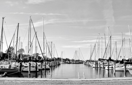 Yachts in BnW# (1)