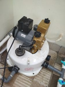 Jasa service pompa air pamulang ciputat timur