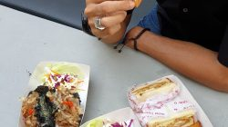 O-Mbull Don, berbagai menu ala jepang dengan harga mahasiswa. Foto: Nadin Himaya/Lingkar.co